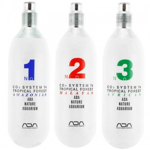 CO2 SYSTEM 74-TROPICAL FOREST Three Bottle Set