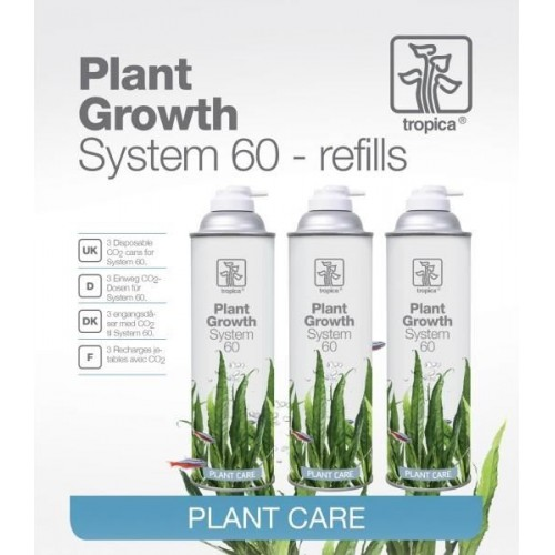 Plant Growth System 60 recargas Co2