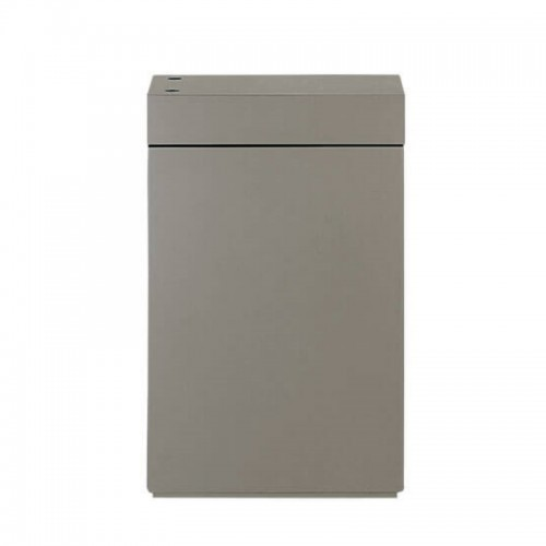 Wood Cabinet W 36 Metallic Silver
