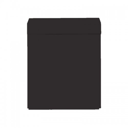 Wood Cabinet 60 Black