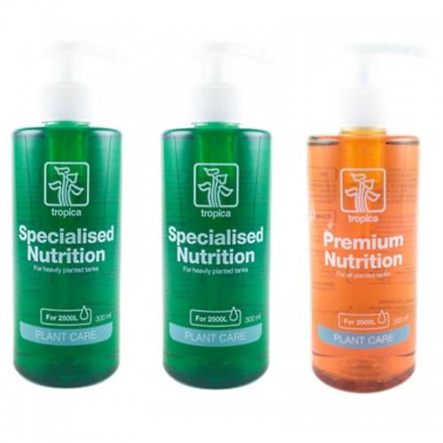 Pack 2 fertilizantes PLANT GROWTH SPECIALIZED e 1 PLANT GROWTH PREMIUM