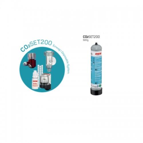 EHEIM CO2Set200 garrafa 500g c/ garrafa não recarregável