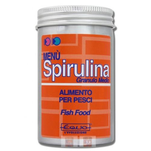 Menu Spirulina - Granulo medio
