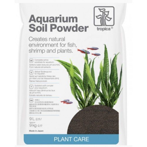 AQUARIUM SOIL POWDER 9L