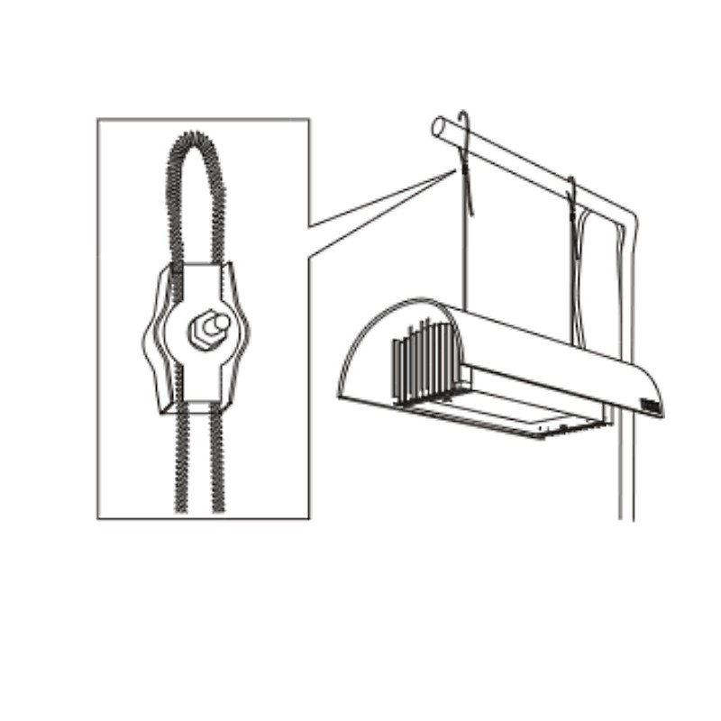 WIRE CLAMP FOR SOLAR 2 pcs