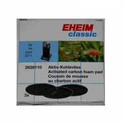 Pack esponjas carvão activo - EHEIM 150 2211