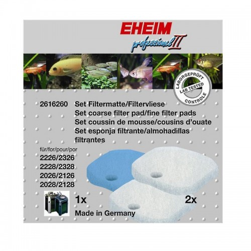 Pack de esponjas filtrantes - EHEIM Professionel 2/Experience