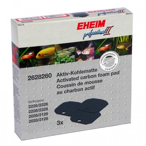Pack esponjas carvão activo  - EHEIM Professionel 2/Experience