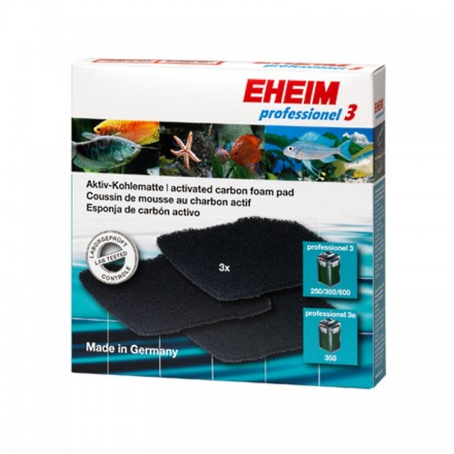 Pack esponjas carvão activo - EHEIM Professionel 3/3e