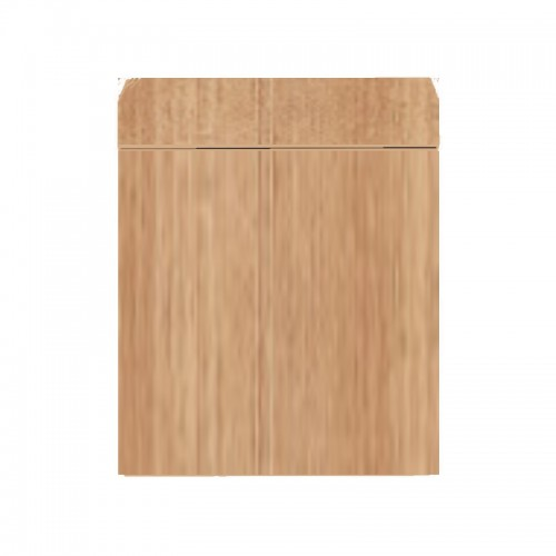 Wood Cabinet 60 Dark Wood
