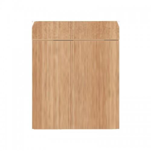 Wood Cabinet 75 Dark Wood