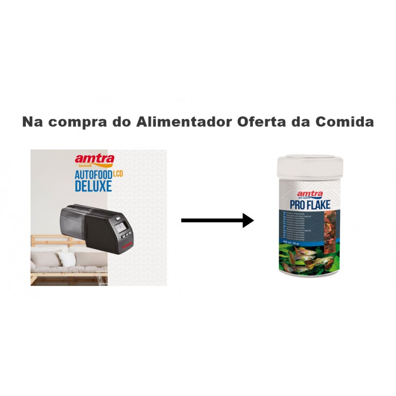 Promoção Amtra autofood deluxe lcd