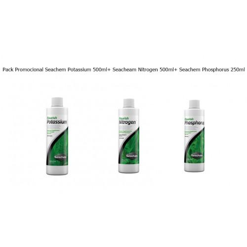 Pack Promocional Potassium + Nitrogen + Phosphorus 500ML