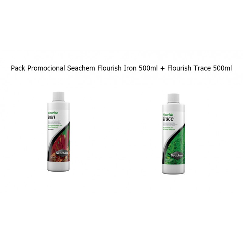 Pack Promocional Iron + Trace 500ml